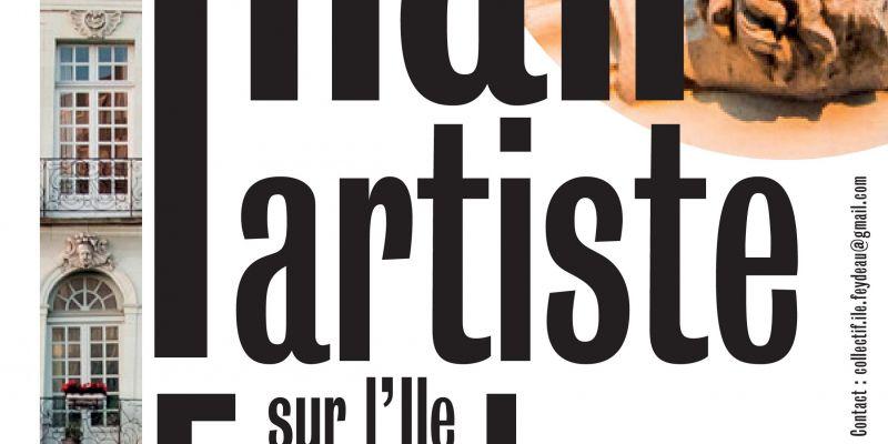 Journées Européennes du Patrimoine, « un hall, un artiste » sur lÎle Feydeau