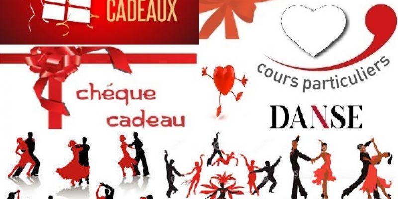 Offrez une carte cadeau st valentin, anniversaire, une fête...un cours particulier de danse de salon.