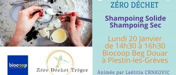 Shampoing Solide & Shampoing Sec : SALLE De BAIN ZÉRO Déchet Plestin-les-Grèves