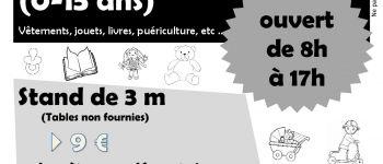 Vide-greniers dédié à l\enfance (0-15ans) LANNION