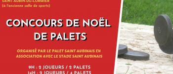 Concours de Noël de palets Saint Aubin du Cormier