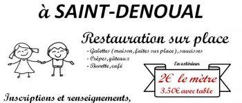 Vide-grenier de l\école notre dame des champs Saint-denoual