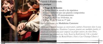 Atelier Composition & Improvisation Musicale Erbree