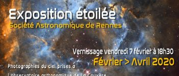 Vernissage de l\exposition Société Astronomique de Rennes La couyère