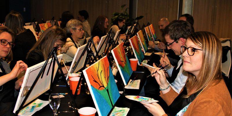 Atelier peinture 2h dans un bar (conso incluse) - « frida kahlo»