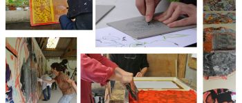 Initiations artistiques par les artistes résidents de la villa gregam Grand champ