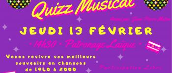 Quizz Musical Pont-lAbbé