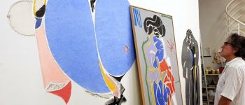 Exposition de christian bonnefoi \tableaux et ludos récents\ Rennes