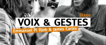 STAGE GOSPEL ET VOIX    Emmanuel PI DJOB et James CARLES SAINT GUINOUX