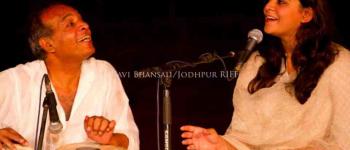 Chant et rythmes du Rajasthan par Parveen Sabrina Khan & Hameed Khan Kawa Langonnet