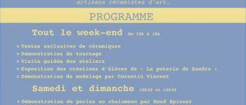 Portes ouvertes atelier de céramique Corseul