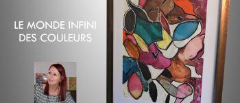 Christina, peintre encauste, de retour au Fort de Sainte-Marine pour deux semaines Combrit Sainte-Marine