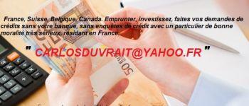 ANNONCES PLUS BESOIN DE BANQUE AVANT D\AVOIR UN CRÉDIT SÉRIEUX A 3%, RAPIDE, prêt rapide, carlosduvrait@yahoo.fr Lannion(22300)