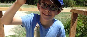 Je pêche mon 1er poisson Jugon les lacs