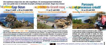 Stage \peindre le paysage marin en bretagne\ (1) Beuzec cap-sizun