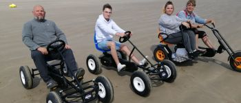 Karting à pédales plages de Pentrez Saint-Nic 29550 Saint nic 29