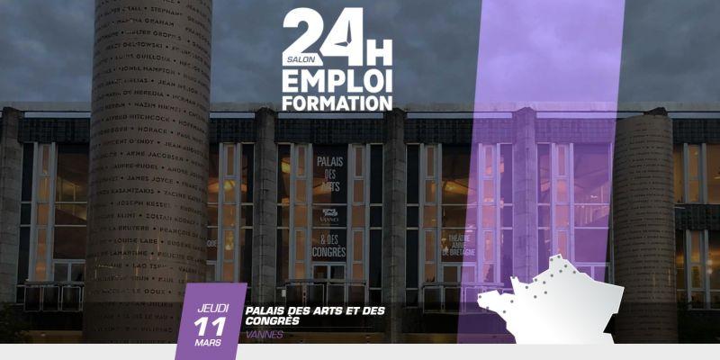 24 heures pour l'emploi et la formation - vannes 2021