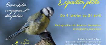 Exposition photo \Oiseaux des jardins et des campagnes\, Jean-Luc Parmentier Saulnières