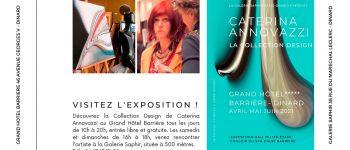 Exposition caterina annovazzi & rencontres avec l\artiste Dinard