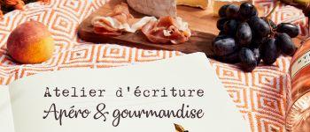 Atelier d'écriture en ligne – Apéro et gourmandise Nantes