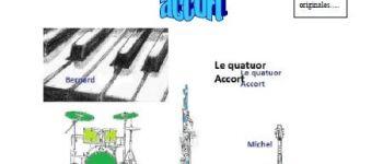 Concert par \Quatuor-accort\ LAMBALLE