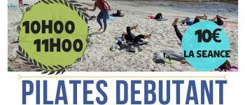 Séance de Pilates sur la plage de St Anne de Portzic  B'REST