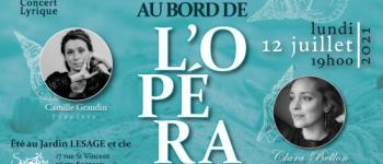 Récital lyrique «au bord de l'opéra» avec la soprano clara bellon Sarzeau